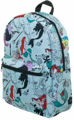 Disney The Little Mermaid Sublimated Print Backpack