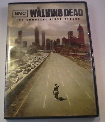 The Walking Dead DVD Complete First Season 2 Disc Set + Features $10 ships free