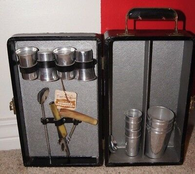 Antique travel bar. Great for the man cave.   See details