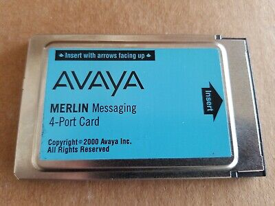 Avaya Merlin Messaging 4-Port Card - 108491366.  New Original Packaging