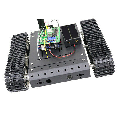 TC100 WiFi Robot Tank Car Chassis by Remote Control Smooth Operation Alloy