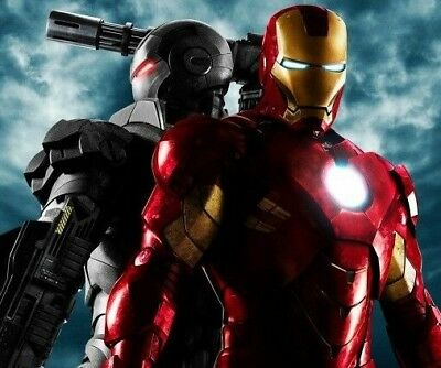 MARVEL AVENGERS ENDGAME Iron Man 27x40 Original DS Theater Poster WAR MACHINE +3