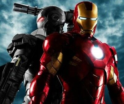 MARVEL AVENGERS Iron Man 2 Original DS Movie Poster 27x40 ENDGAME WAR MACHINE