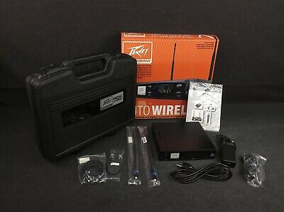Peavey RM 12 Two-Half Rack Mount For Select Pcx Wireless Mic Receiver 485240 New