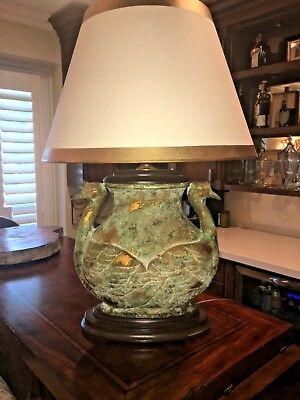 Manner of JAMES MONT Lamp Mid-Century CHINOISERIE Hollywood REGENCY
