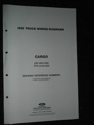 Phenomenal 1996 Ford Cargo Wiring Diagram Schematic Service Manual Rg421 Wiring Digital Resources Remcakbiperorg