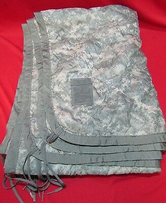 Genuine US Army ACU Digital Poncho Liner Wet Weather Woobie Good