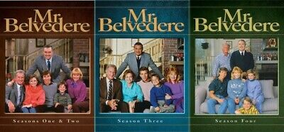 MR BELVEDERE TV SERIES COMPLETE SEASONS 1 - 4 New DVD Season 1 2 3 4
