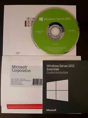Microsoft Windows Server 2012 Essentials 64Bit - Italiano