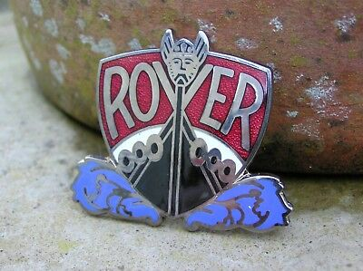 STUNNING SILVER PLATED and ENAMEL ROVER INGOT