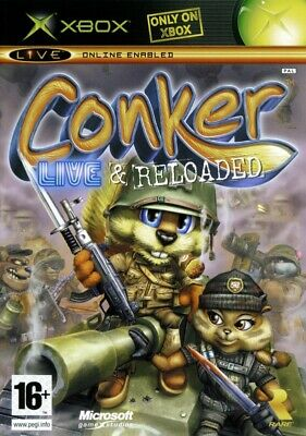 Microsoft Xbox Spiel - Conker: Live & Reloaded mit OVP