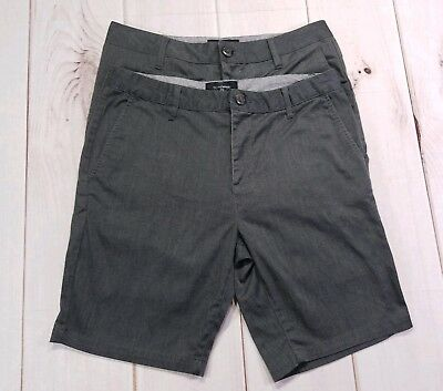 2 Pairs of BLUE CROWN Slim Chino Shorts Size 31