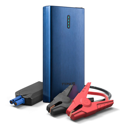 NEW Winplus Type S Jump Starter And Portable Power Bank 2 USB Charging Ports N/B