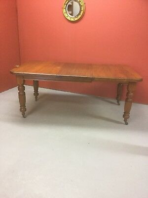 Antique Victroain Walnut Extending Dining Table Sn-426