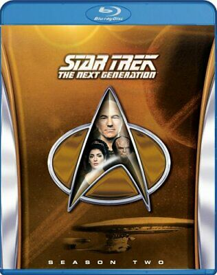STAR TREK THE NEXT GENERATION SEASON 2 New Sealed Blu-ray