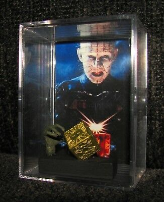 HELLRAISER (INSPIRED BY) PINHEAD and BOX DISPLAY..NEW..You get what you see