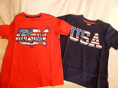 NWT3 3T or 4 4T GYMBOREE JULY 4TH PATRIOTIC USA AMERICAN TOP  SUMMER
