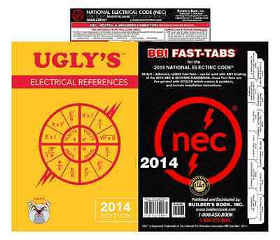 NFPA 70 2014: National Electrical Code (NEC) Fast Tabs, Quick Card & Ugly's Elec