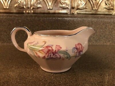 The Edwin M Knowles China Company Mayflower Creamer 32-3