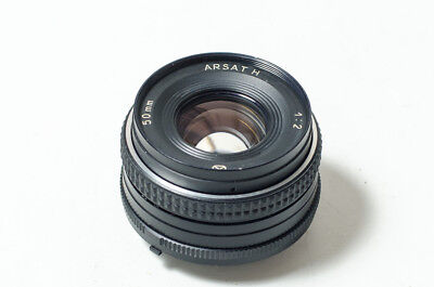 Arsat H (MC Helios-81H 81N) 2/50 50mm f2 lens, Nikon, Kiev. TESTED. MINT