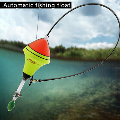 1Pc*EVA Automatic Fishing Float Fishing Artifact Stainless Steel Vertical Buoy