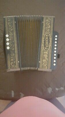 Vintage Hohner Squeezebox