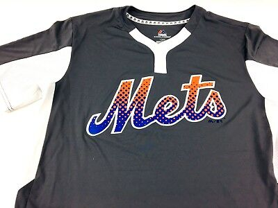 promo code 45e6a 5fa39 NEW YORK METS Majestic Memorial Day Cool Base Jersey White ...