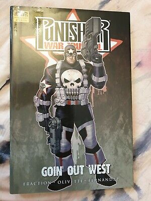 Punisher war journal, Going Our West, Graphic Novel, Premiere Edition.