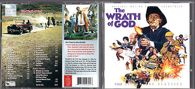 LALO SCHIFRIN THE WRATH OF GOD FILM SCORE MONTHLY EDITION in LIKE NEW CONDITION