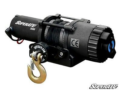 3500 lb. Synthetic Rope ATV & UTV Winch -With Wireless Remote