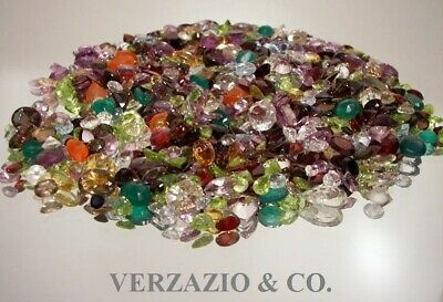 200+ Ct Mixed Gemstones Lot Loose Natural  Gem Stones Wholesale Mixed Gem Lot