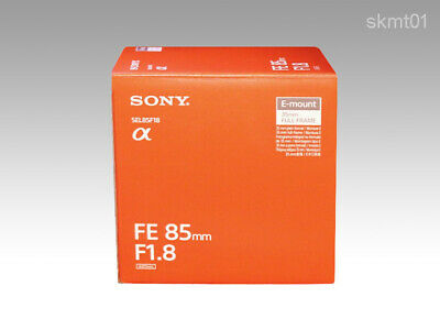 SONY FE 85mm F1.8 SEL85F18 E-mount Lens from Japan EMS or DHL Fast Shipping NEW
