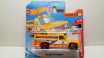 MATTEL 5785 T HOT WHEELS HW RAPID RESPONDER