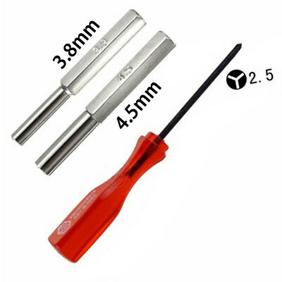 3.8mm + 4.5mm + triwing security screwdriver bit set for N64 game boy  MC