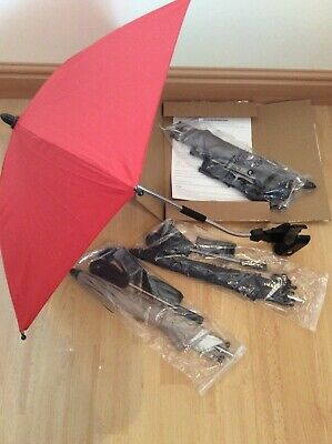 Baby Parasol for pushchair stroller in Grey, Red, Black or Sand colours