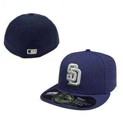 2daac01c New Era 5950 59FIFTY SAN DIEGO PADRES ALT TURN BACK THE CLOCK Cap BP Fitted  Hat