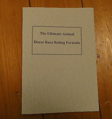 The Ultimate Animal Horse Racing Formula Rating System