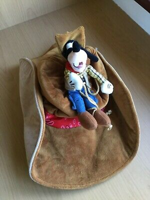 DISNEYLAND PARIS GOOFY COWBOY WESTERN HAT Rodeo Rare Disney World Theme Park Plu