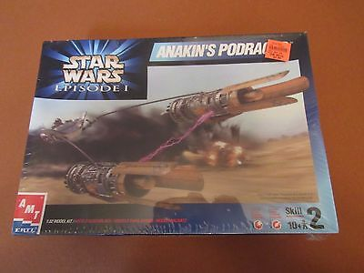 AMT STAR WARS Episode 1 Anakin's Podracer sealed model kit sci-fi