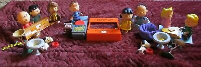 Peanuts Charlie Brown & Friends Action Figures Etc. Lucy Snoopy Linus, Pig Pen +