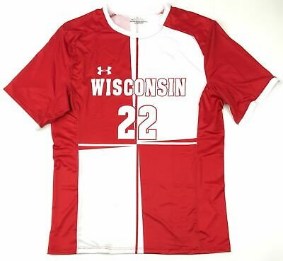 New Wisconsin Badgers Under Armour Football Authentic Jersey