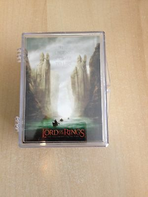 Lord Ring Fellowship LOTR FOTR Topps trading Card set 90 Cards NM/M