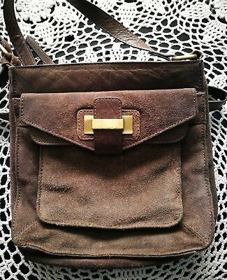 Oasis real leather crossbody bag