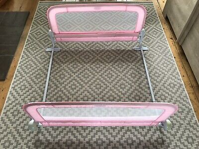 Double Summer Infant Bed Rail Grow With Me - Pink