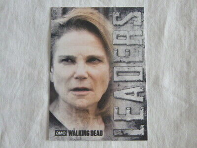 Walking Dead Hunters & The Hunted Leaders Chase Card L-3 Deanna Monroe