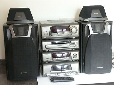 TECHNICS HI-FI SA/SH/RS/SL-DV250 CD / Tape / Amplifier