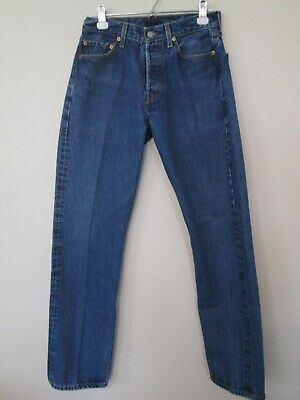 969e30b4598 MENS LEVIS 501 XX Button Fly Jeans Tag Size 36 X 30 Medium Wash ...