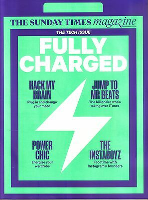 Sunday Times Magazine 30 Nov 2014 The Tech Issue Technology It Instagram  Wired