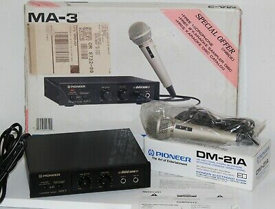 Pioneer Digital Echo Karaoke Mixer MA-3 Brand New w/ DM-31A Free Shipping