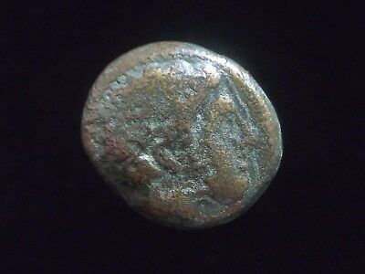 Greek coin AE17 of Philip II, 359-336 BC, Father of Alexander the Great  AC0083